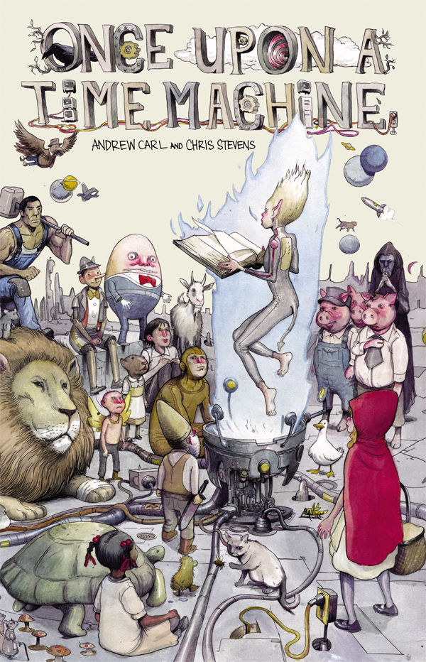 Cover by Farel Dalrymple