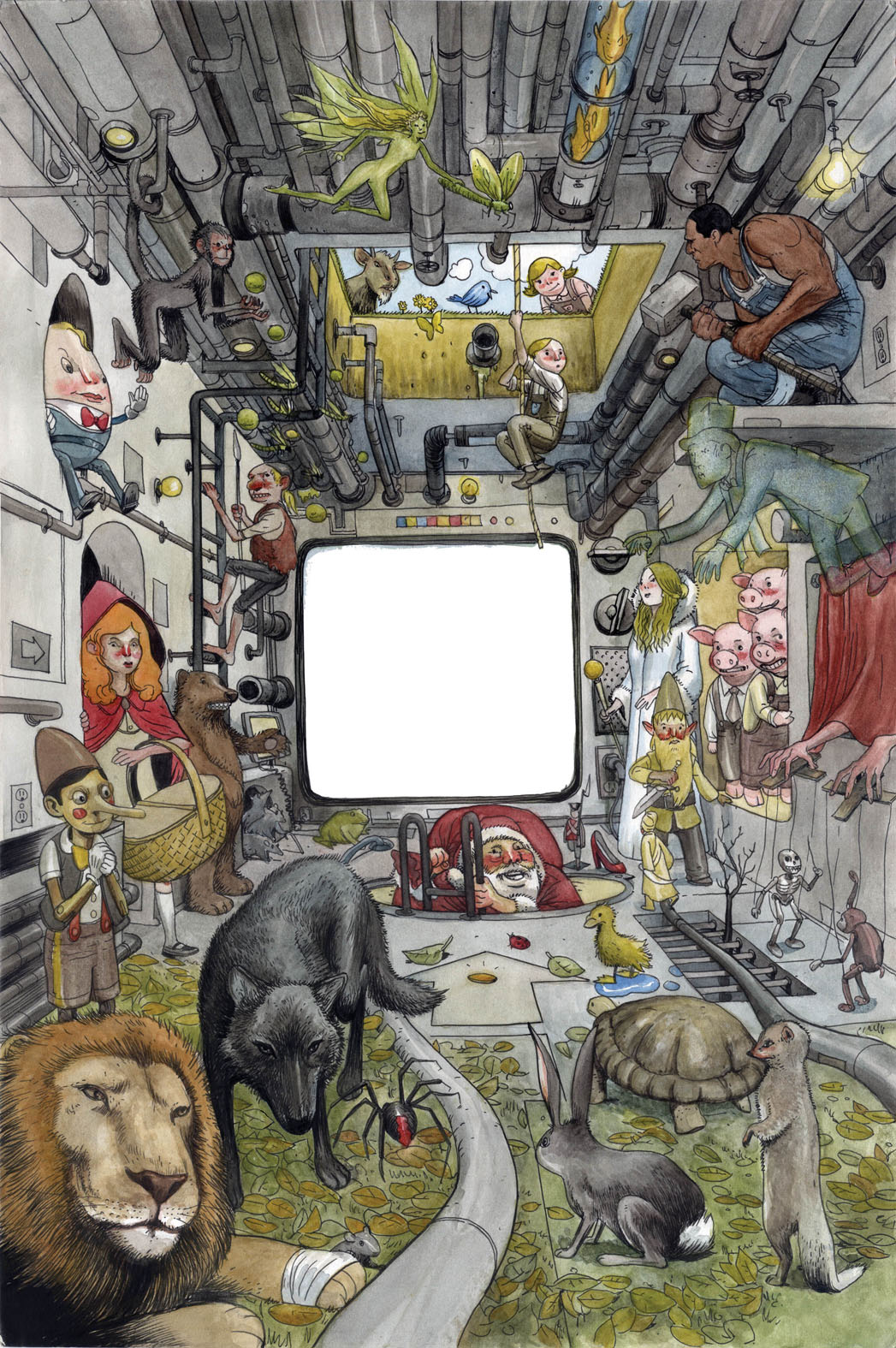 Title Page by Farel Dalrymple