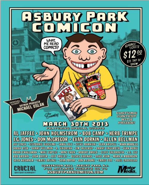 Asbury Park Comicon 2013