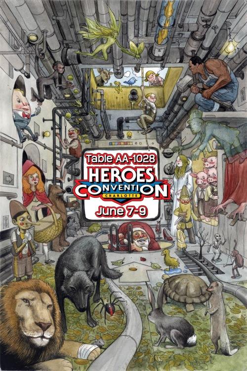 heroescon table