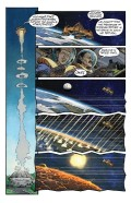"Excerpt from ""Icarus"" by Andrew Carl (writer) and Gideon Kendall (artist/letterer)"