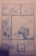 """The Long Bow"" page 2 pencils by Joe DellaGatta, written by Michael Swanwick"